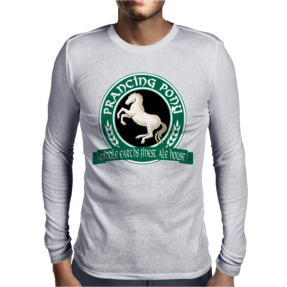 Prancing Pony Mens Long Sleeve T-Shirt