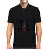 Pray for Peace Mens Polo