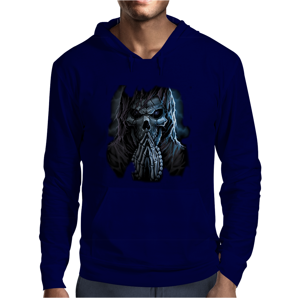 Praying Reaper Mens Hoodie