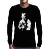 Predator Arnie Cool Retro Cult Movie Mens Long Sleeve T-Shirt