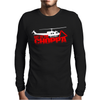 Predator Arnold Schwarzenegger Get to the Choppa Movie Mens Long Sleeve T-Shirt