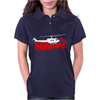 Predator Arnold Schwarzenegger Get to the Choppa Movie Womens Polo