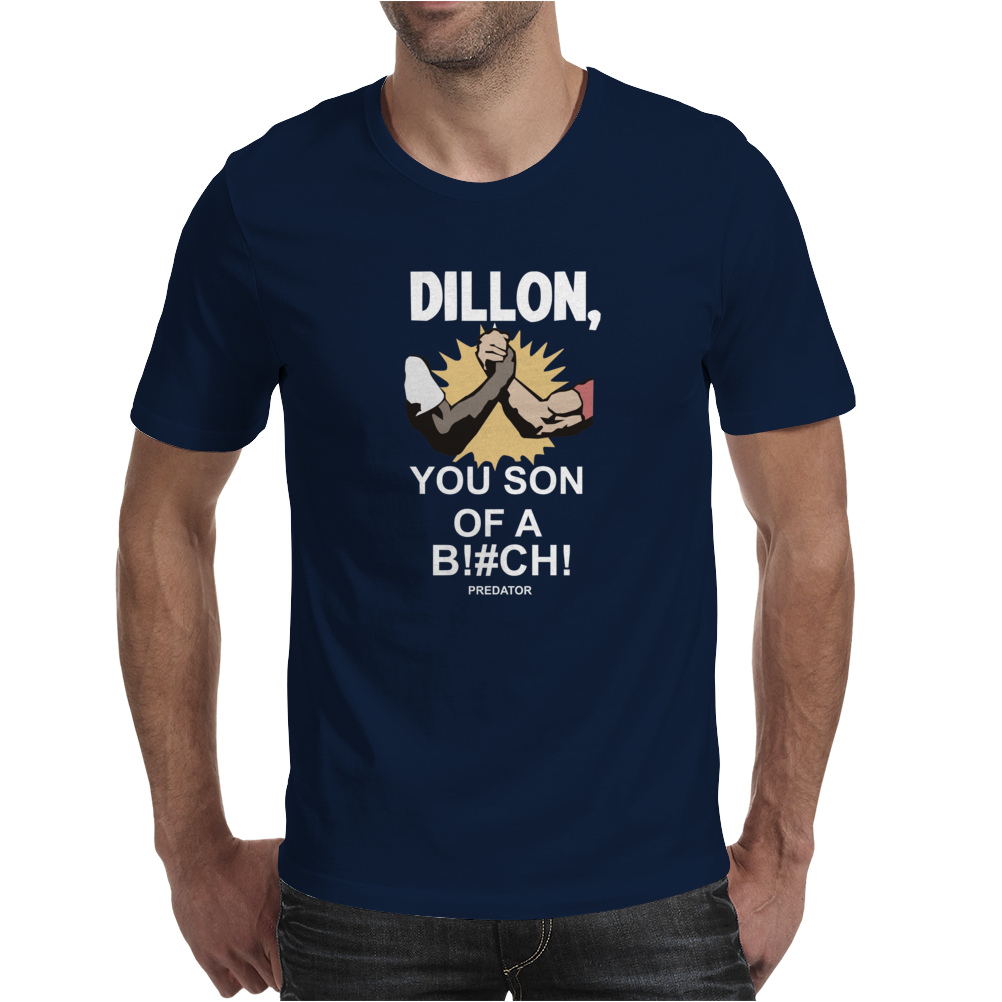 Predator Movie Dillon Licensed Adult Mens T-Shirt