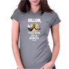 Predator Movie Dillon Licensed Adult Womens Fitted T-Shirt