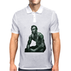 President Lincoln Five Dollar Bill Muscle Jacked Gym Mens Polo