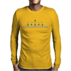 Princess Emerald Tiara Mens Long Sleeve T-Shirt