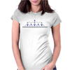 Princess Sapphire Tiara Womens Fitted T-Shirt