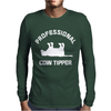 PRO COW TIPPER TIPPING FUNNY Mens Long Sleeve T-Shirt