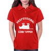 PRO COW TIPPER TIPPING FUNNY Womens Polo