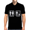 Problem Solved Guitar Mens Polo