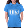 Problem Solved Mens Funny Fishing Womens Polo