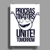 Procras Tinators Unite Tomorrow Poster Print (Portrait)