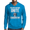 Procrastinators Unite Tomorrow Mens Hoodie