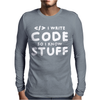 Programers know stuff - wht Mens Long Sleeve T-Shirt