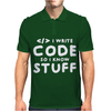 Programers know stuff - wht Mens Polo