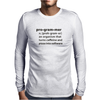 Programmer dictionary definition Mens Long Sleeve T-Shirt