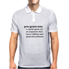 Programmer dictionary definition Mens Polo