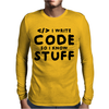 Programmers know stuff - blk Mens Long Sleeve T-Shirt