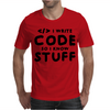 Programmers know stuff - blk Mens T-Shirt