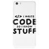 Programmers know stuff - blk Phone Case