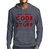 Programmers know stuff - red Mens Hoodie