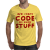 Programmers know stuff - red Mens T-Shirt