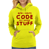 Programmers know stuff - red Womens Hoodie