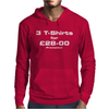 promotion - 3 Tshirts for £28-00 Mens Hoodie