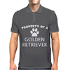 Property of a Golden Retriever Mens Polo