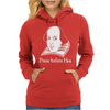 Prose Before Hos  Funny William Shakespeare Joke Comedy Rude Womens Hoodie