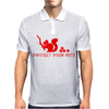 Protect your nuts red Mens Polo