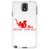 Protect your nuts red Phone Case