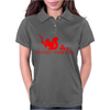 Protect your nuts red Womens Polo