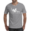 Protect your nuts white Mens T-Shirt