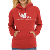 Protect your nuts white Womens Hoodie