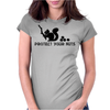 Protect your nuts Womens Fitted T-Shirt