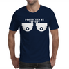 Protected By Titty Tv Mens T-Shirt