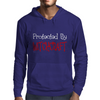 Protected By Witchcraft Mens Hoodie