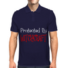 Protected By Witchcraft Mens Polo