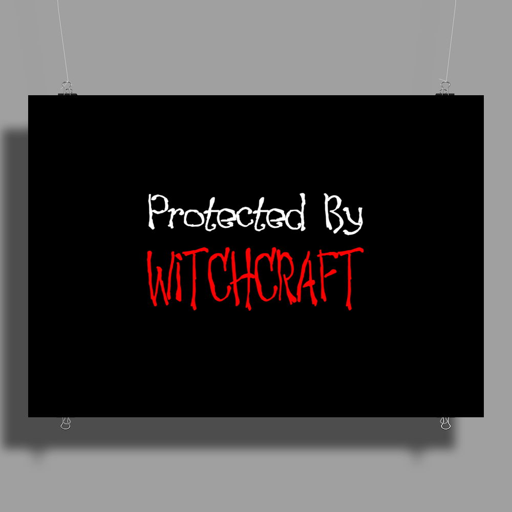 Protected By Witchcraft Poster Print (Landscape)