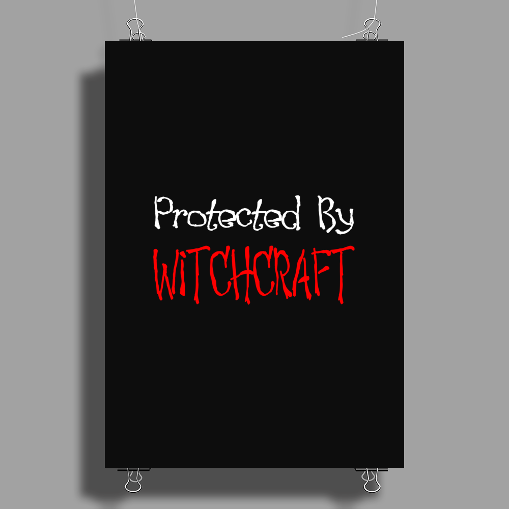 Protected By Witchcraft Poster Print (Portrait)