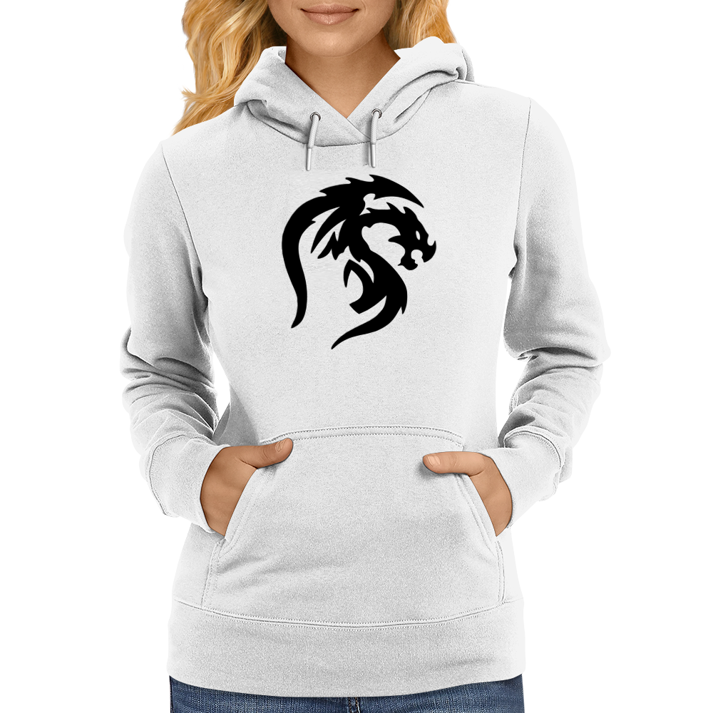 ProtoDragon (Black Version) Womens Hoodie