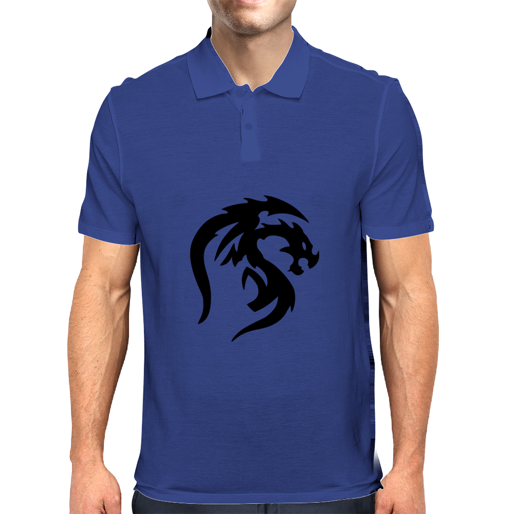 ProtoDragon Logo Mens Polo