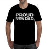 Proud New Dad Mens T-Shirt