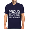 Proud supporter Mens Polo