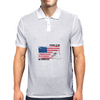 Proud to be american, America love, Independence Day Mens Polo