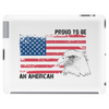Proud to be american, America love, Independence Day Tablet (horizontal)