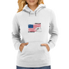 Proud to be american, America love, Independence Day Womens Hoodie