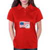 Proud to be american, America love, Independence Day Womens Polo
