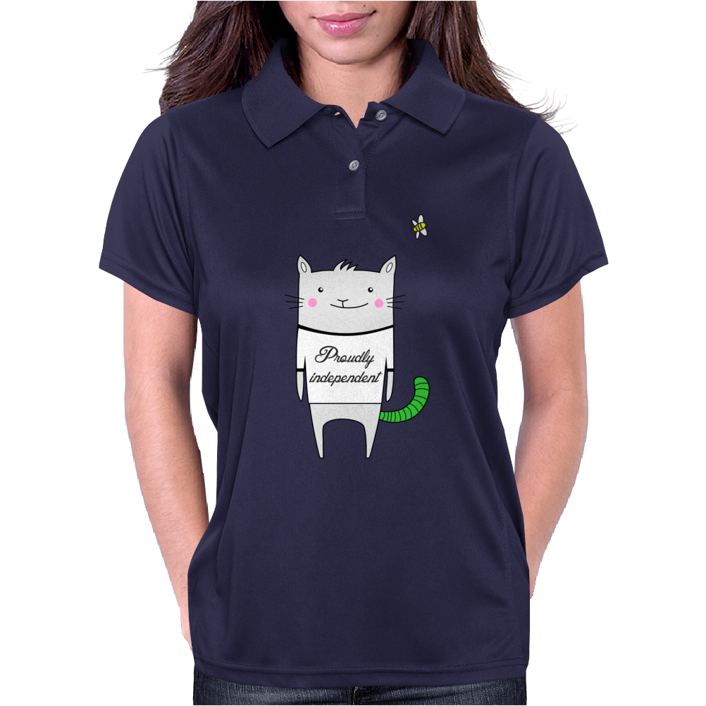 PROUDLY INDEPENDENT Womens Polo